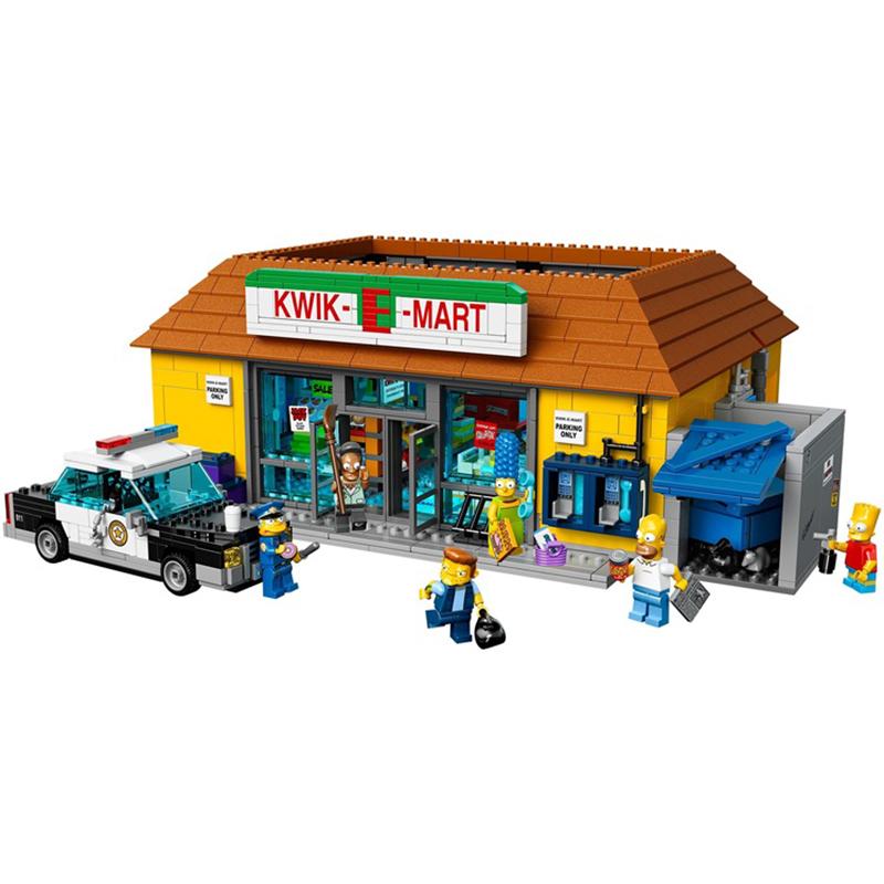 レゴ 71016 シンプソンズ クイックEマート 互換品  ミニフィグ付