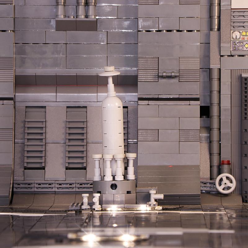 レゴ 互換品 ミレニアムファルコン ドッキング ベイ (ライトキットセット) スターウォーズ