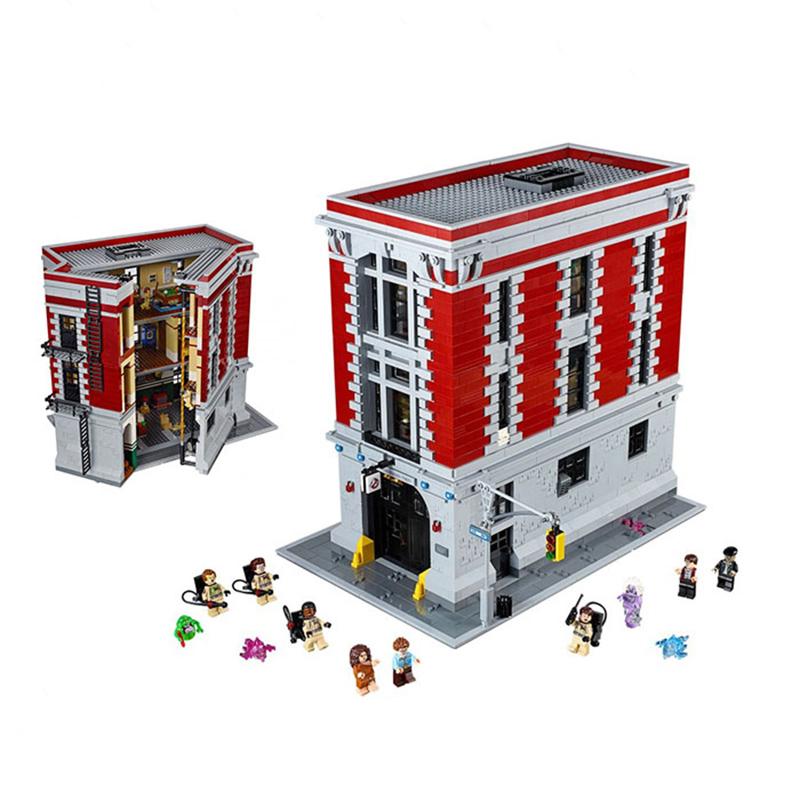 レゴ 75827 ゴーストバスターズHQ(消防署本部) 互換品
