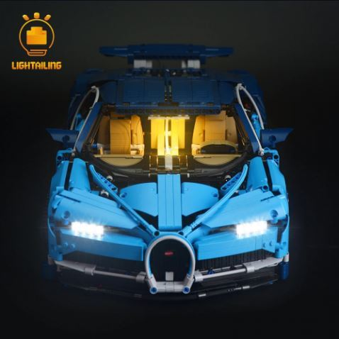レゴ 42083 [LED ライト キット+バッテリーボックス] ブガッティ・シロン 20086 電飾 ライトアップ セット