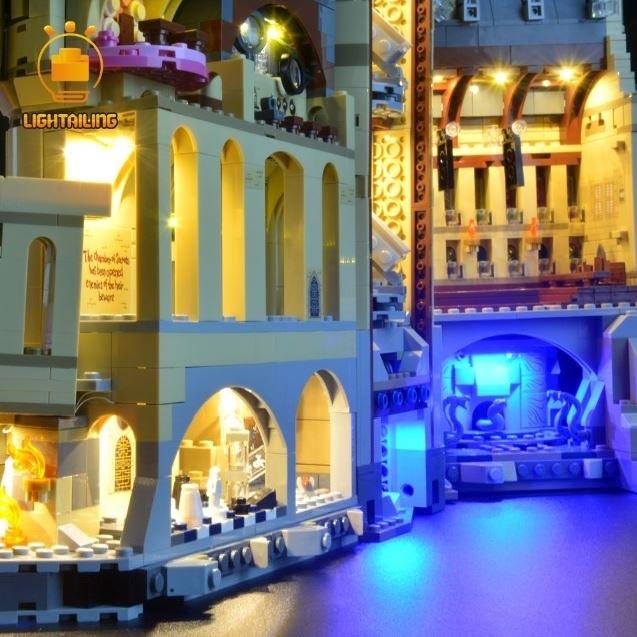 レゴ 71043 [アップグレードLEDライト+バッテリーボックス] ハリーポッター 新ホグワーツ城 電飾 ライトアップ セット