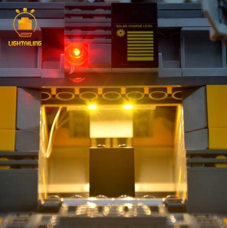 レゴ 21303 [LED ライト キット+バッテリーボックス] ウォーリー WALL・E  電飾 ライトアップ セット