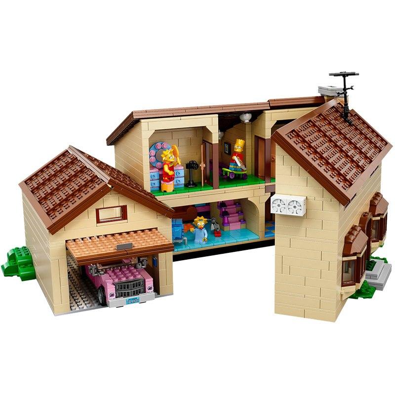 レゴ シンプソンズハウス 互換品 クリスマス プレゼント 71006