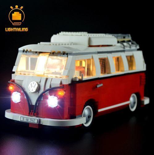 レゴ 10220 用 [LED ライト キット+バッテリーボックス] フォルクスワーゲン T1 キャンパーヴァン 電飾 ライトアップ セット