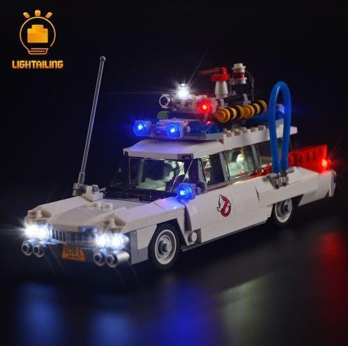 レゴ 21108 用 [LEDライトキット+バッテリーボックス] ゴーストバスターズ ECTO-1 電飾 ライトアップ セット
