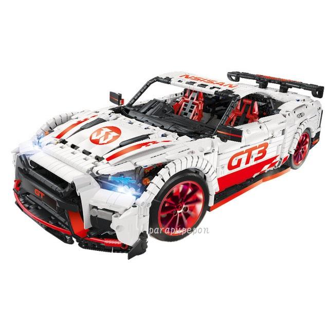 レゴ テクニック 互換品 GTR GT3タイプ レーシングカー スーパーカー クリスマス プレゼント