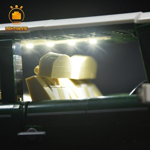 レゴ 10242 用 [LED ライト キット+バッテリーボックス] ミニ クーパーMk VII 電飾 ライトアップ セット
