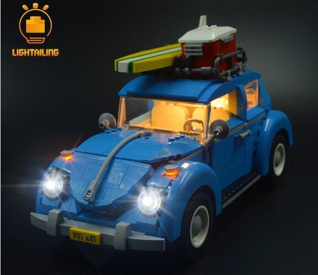 レゴ 10252 [LEDライトキット+バッテリーボックス] クリエイター フォルクスワーゲン ビートル 電飾 ライトアップ セット