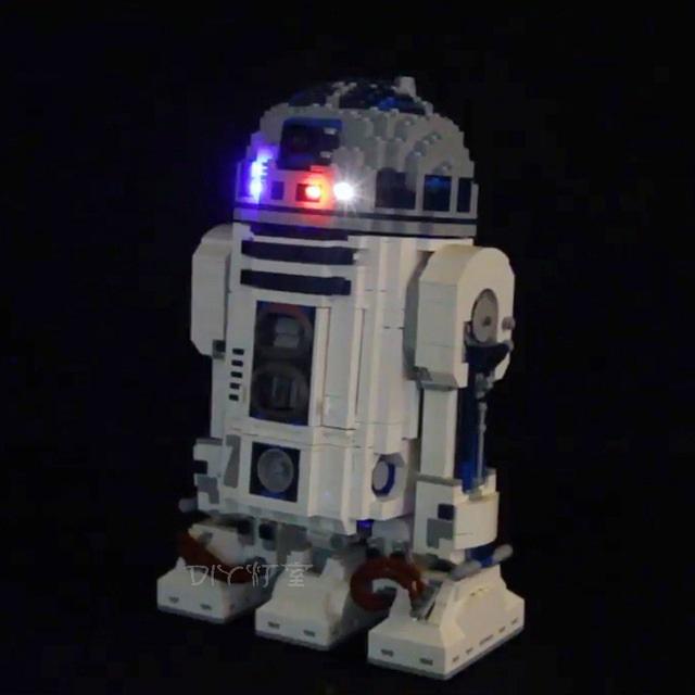 レゴ 10225 [LEDライトキット+バッテリーボックス] スターウォーズ R2-D2 ライトアップセット