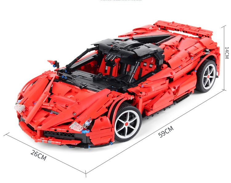 レゴ テクニック 互換品 フェラーリ デザイン スポーツカー レースカー