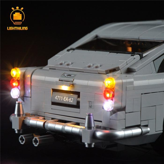 レゴ 10262 [LED ライト キット+バッテリーボックス] ジェームズ・ボンド アストンマーティン DB5 007 電飾 ライトアップ セット