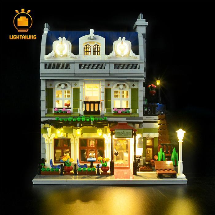 レゴ 10243 [ LED ライト キット +バッテリーボックス]  パリのレストラン Parisian Restaurant  電飾 ライトアップ セット