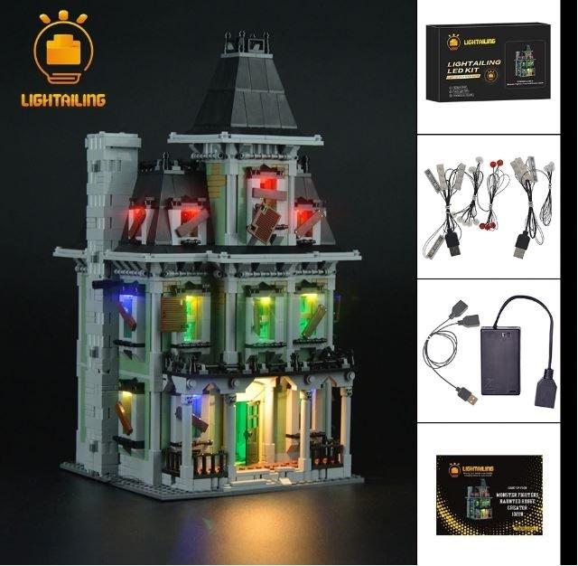 レゴ 10228 [LEDライトキット+バッテリーボックス] モンスター・ファイター 幽霊屋敷 電飾 ライトアップ セット