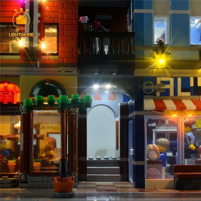 レゴ 10246 [LED ライト キット+バッテリーボックス] 探偵事務所 Detective's Office 電飾 ライトアップ セット
