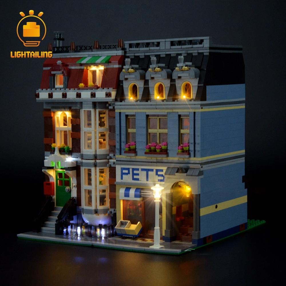 レゴ 10218 [LED ライト キット+バッテリーボックス] ペットショップ ライトアップセット 電飾 ブロック