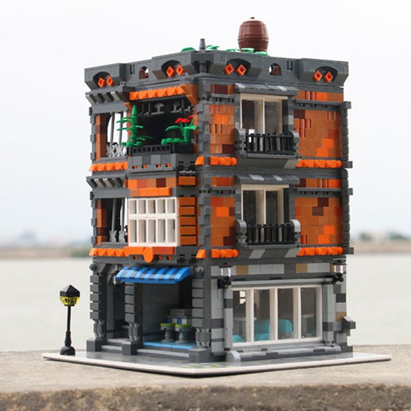レゴ 互換品 フルーツショップ 青果店 建物 街並み おもちゃ 街並み ブロック クリスマス プレゼント 知育玩具 入学 お祝い こどもの日