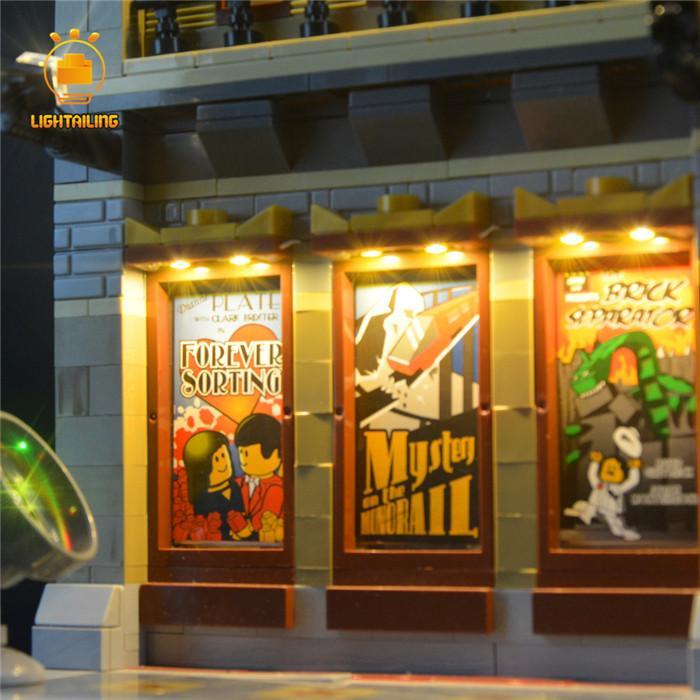 レゴ 10232 [LED ライト キット+バッテリーボックス] パレスシネマ  Palace Cinema 電飾 ライトアップ セット