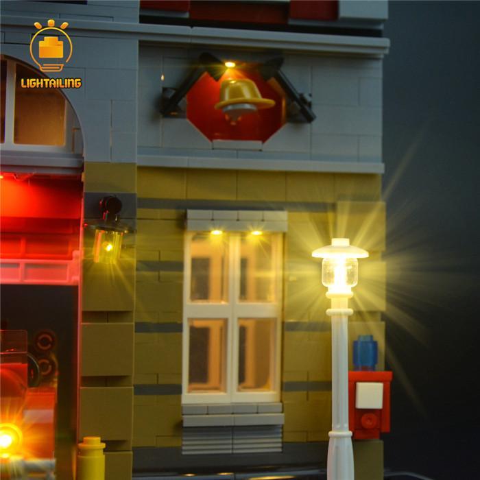 レゴ 10197 [LED ライト キット+バッテリーボックス] Fire Brigade ファイヤーブリケード 消防署 電飾 ライトアップ セット