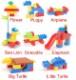 レゴデュプロ互換 カラフルブロック (89-178ピース) 立体パズル 知育玩具