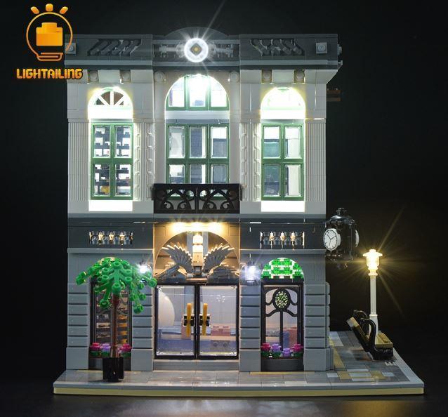 レゴ10251 [LEDライトキット+バッテリーボックス] ブリック バンク 電飾 ライトアップ セット