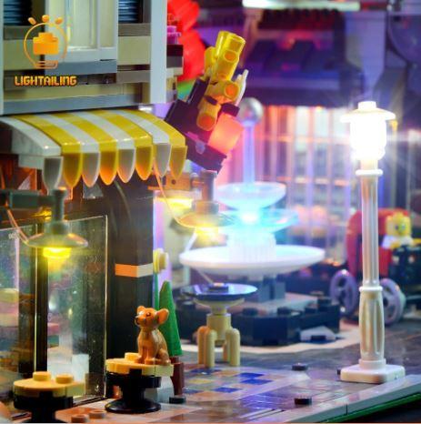 レゴ 10255 [LED ライト キット+バッテリーボックス] アセンブリ スクエア Assembly Square 電飾 ライトアップ セット