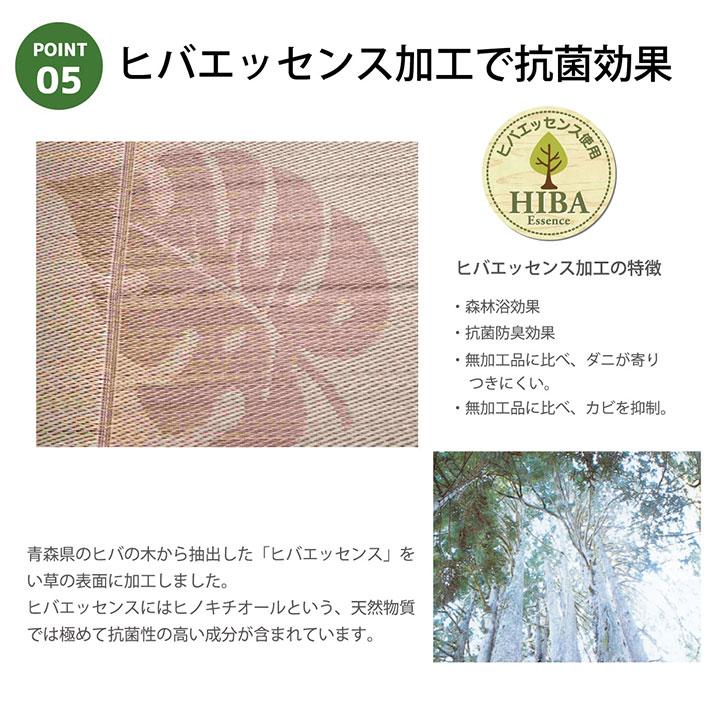 い草ラグ カーペット SPモーリア ふっくら い草国産【送料無料】
