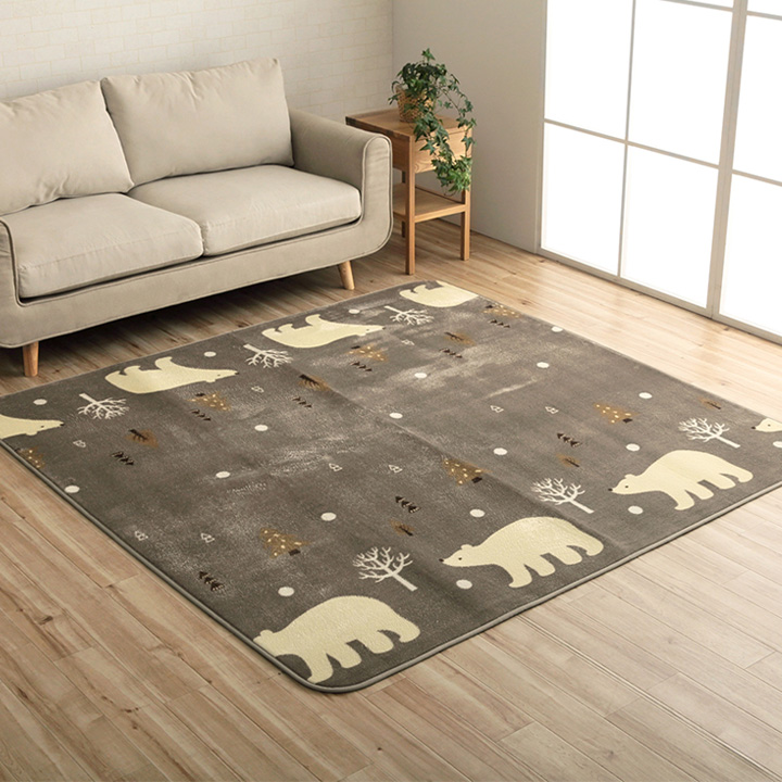 ラグカーペット 絨毯 AZバニラ ラグマット おしゃれ かわいい リビング ダイニング センターラグ【送料無料】