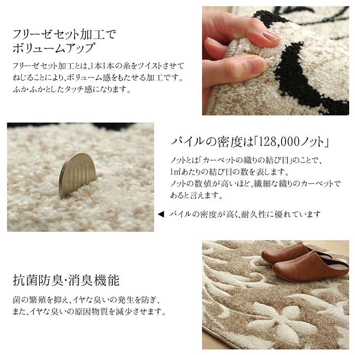 ウィルトン 玄関マット ネム トルコ製【送料無料】