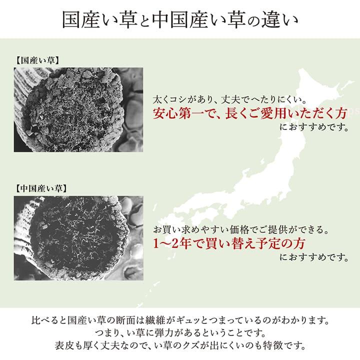 い草ラグ カーペット 京刺子 国産【送料無料】