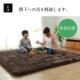 こたつ敷布団 6層フラン 2サイズ 撥水 ラグカーペット絨毯 極厚 ボリューム IKEHIKO 池彦【送料無料】