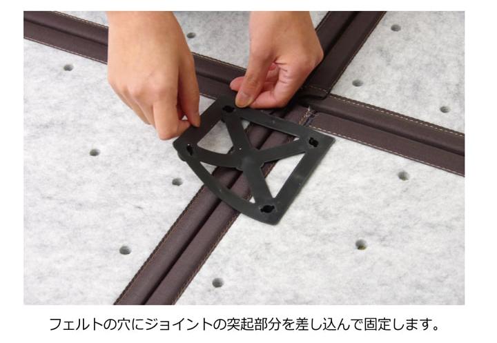 置き畳 ユニット畳 あぐら 82cm 国産 い草 ジャパンディ 和モダン 和室 畳マット フローリング畳【送料無料】