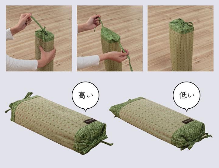 い草枕 クリア 角枕