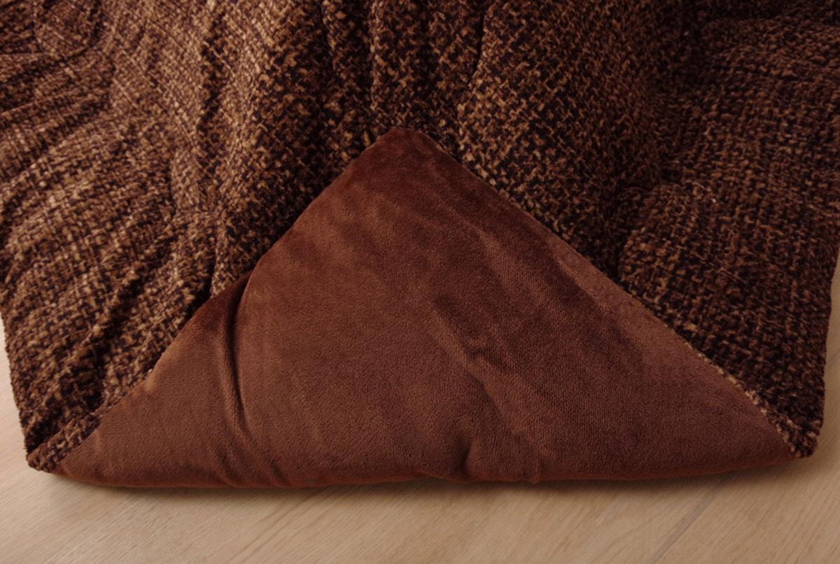 【送料無料】 薄掛け こたつ布団 フェルモ 正方形 長方形