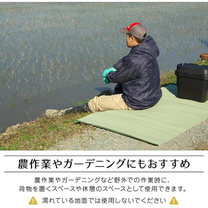 ラグカーペット 上敷きポリプロピレン ファーム 江戸間1畳~10畳 撥水【送料無料】