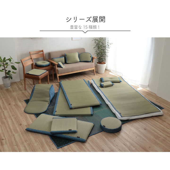 【送料無料】クリア い草敷きパッド