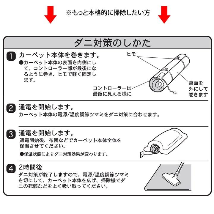 ホットカーペット本体セット なめらかタッチ ラグ ピオニー 【送料無料】