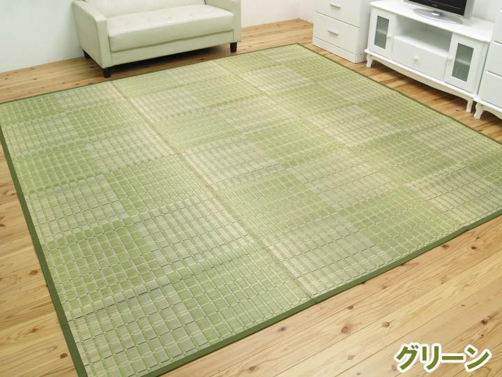 ござ い草上敷き カーペット 白馬 江戸間 2~8畳 IKEHIKO【送料無料】
