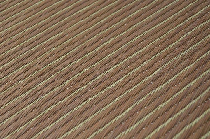 置き畳 ユニット畳 ソリッド ヘリなし 82×82cm 半畳 国産 い草 【送料無料】