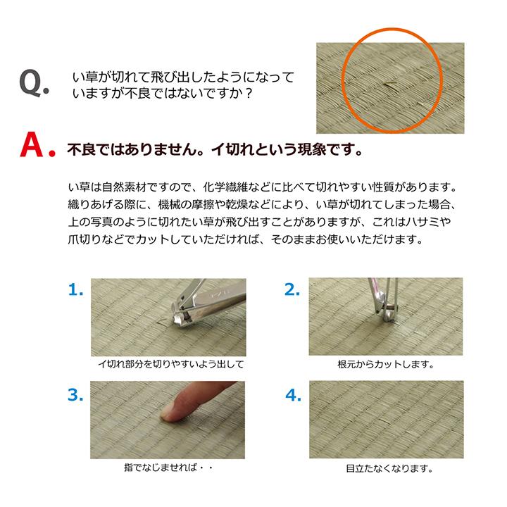 置き畳 3連ユニット畳 パタパタ畳 82×246cm 国産 い草 【送料無料】