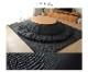 【送料無料】先染め こたつ布団2点セット 楕円形 掛け布団+敷布団 185×225cm