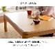 こたつ3点セット フラン 80×120cm こたつ布団 こたつ敷き布団 こたつテーブル 長方形 省エネ 【送料無料】