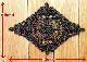 8.5×12cm幅 黒のケミカルモチーフ(1枚)