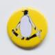 缶バッジ大 オウサマペンギン
