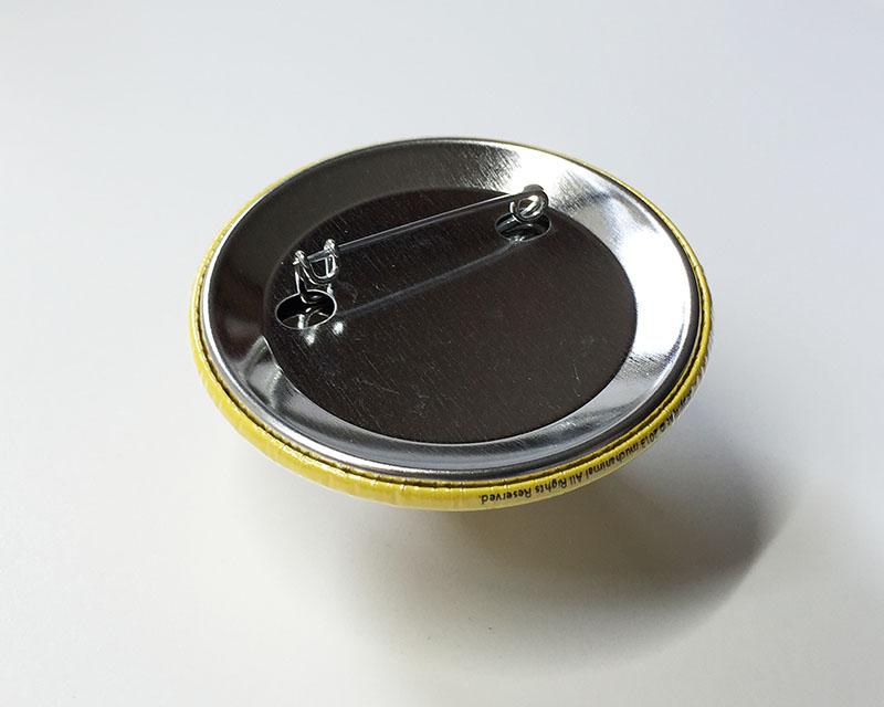 缶バッジ大 ナマケモノ