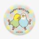 缶ミラー(HAPPY BIRD LIFE / セキセイインコ)