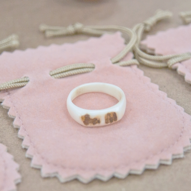 KANOWA 鹿と人の環(指輪)