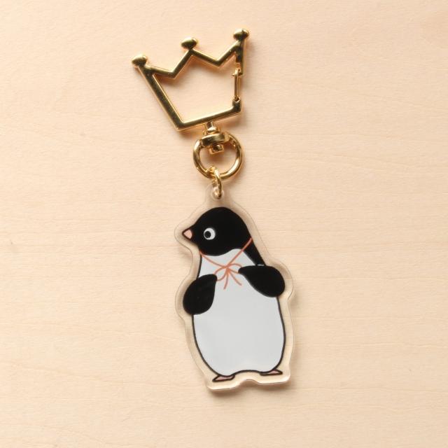 おでかけアデリーペンギンのアクリルストラップ