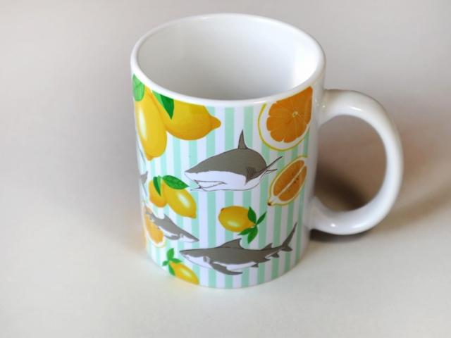 レモン!レモン!レモンザメマグカップ