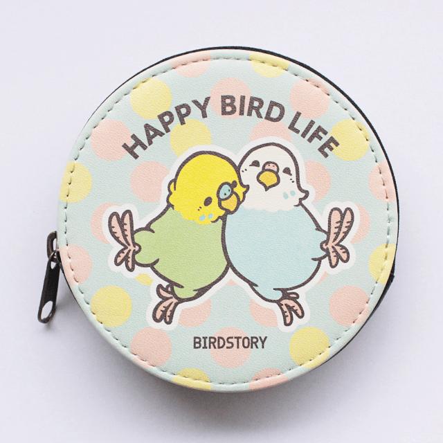 コインケース(HAPPY BIRD LIFE / セキセイインコ)