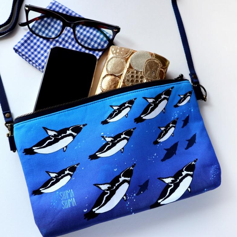 【いきもーる限定販売】天空のペンギンポシェット